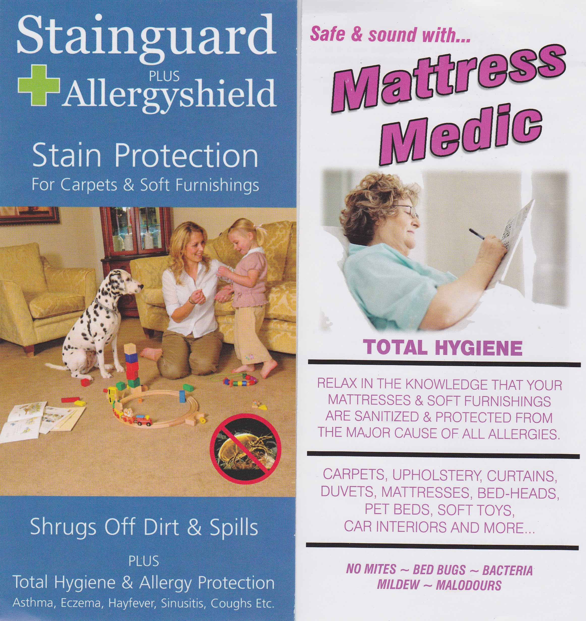 Allergy Shield and Mattress Medic by Actiguard